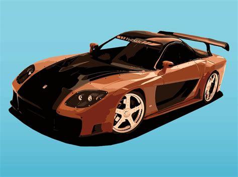 mazda sporty cars mazda sports car vector art graphics freevector com