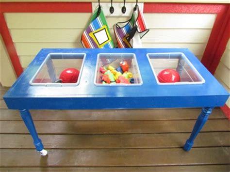 diy a sensory table and tinker table teach