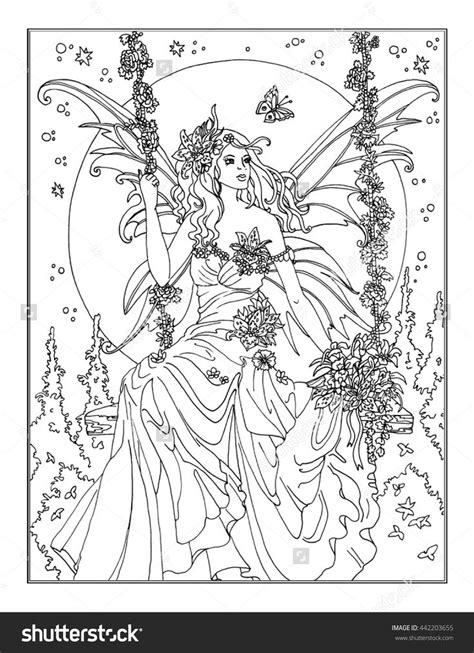 enchanted fairies coloring book books 17 best images about coloring pages to print on