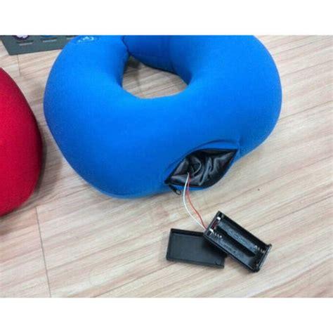 vibrating neck pillow pillows bolsters travel pillow neck