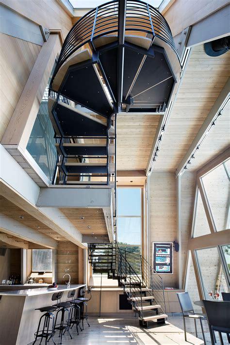 Loft Cabin Floor Plans gallery of a frame rethink bromley caldari architects 2