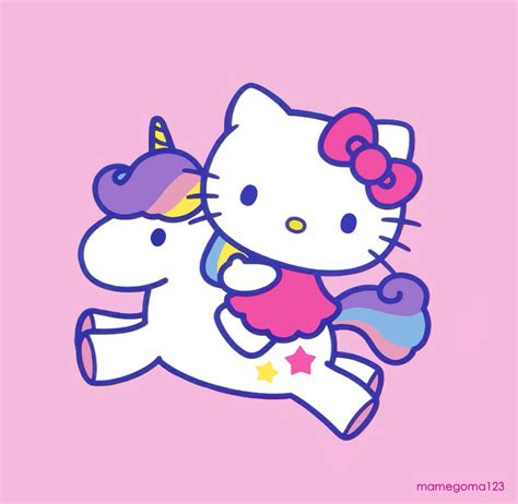 imagenes hello kitty trabajando unicornio hello kitty gt