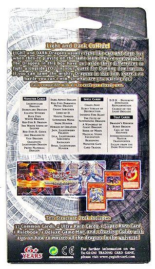 yugioh world structure deck card list konami yu gi oh dragons collide structure deck da card world