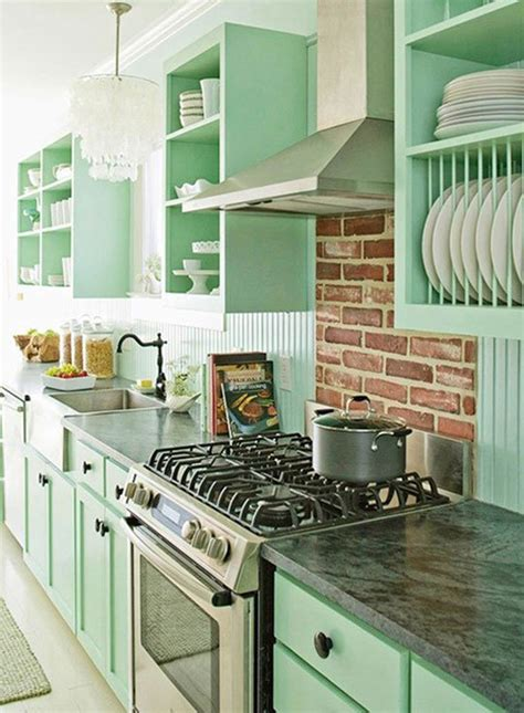 kitchen ideas  painted cabinet homemydesign