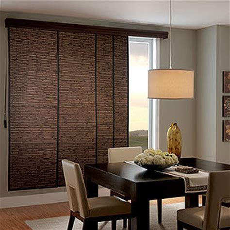 Patio Door Sliding Panel Blinds by Designing Home 5 Window Treatments For Patio Doors