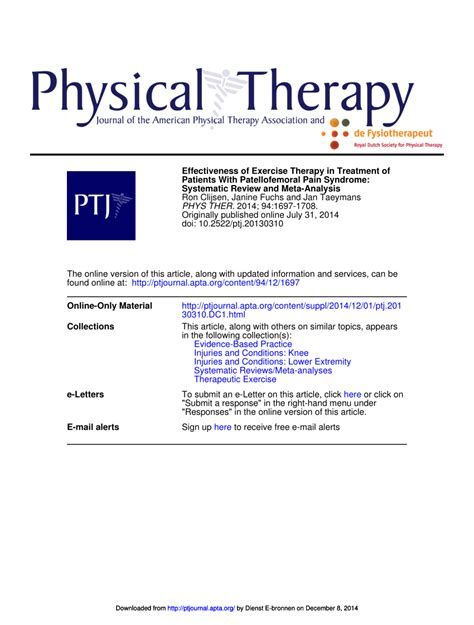 how effective is therapy effectiveness of exercise therapy in treatment of patients