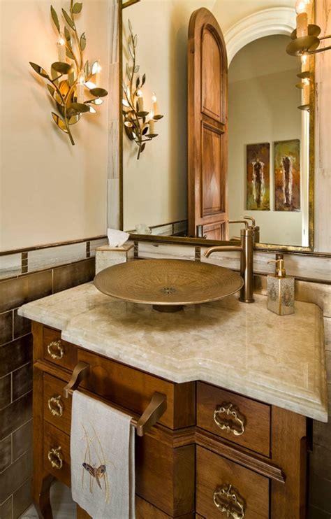 sink bathroom decorating ideas 45 luxurious powder room decorating ideas