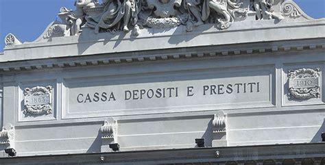 depositi e prestiti il delle stelle cassa depositi e prestiti chiarisca