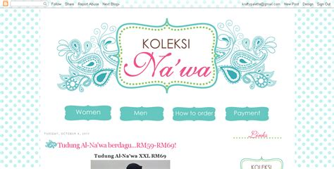layout na blog krafty palette s blog blog design for butik na wa