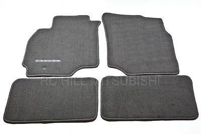 Lancer Floor Mats by 2003 2004 Genuine Mitsubishi Lancer Carpet Floor Mats