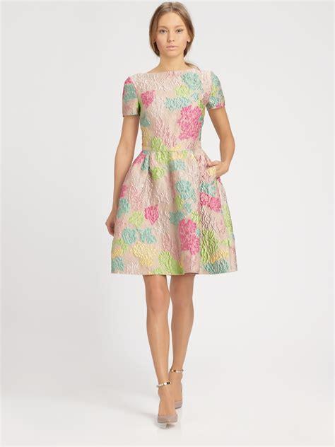 brainy mademoiselle jacquard dress