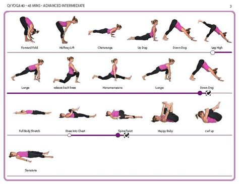 printable yoga instructions advanced intermediate yoga poses fitness pinterest