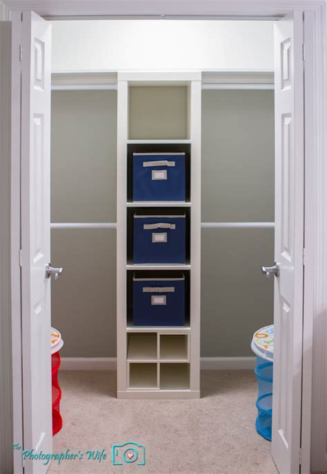 nursery closet makeover the photographer s