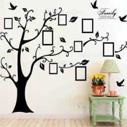tree birds photo frame quotes wall stickers art decals home decor floral heart sticker tattoocouk picture pictures pin