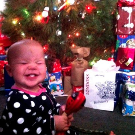 kids on christmas morning funny pictures