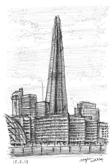 The Shard, London Bridge - Original drawings, prints and