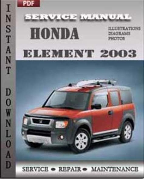 auto repair manual online 2003 honda element seat position control 2003 honda element repair manual pdf