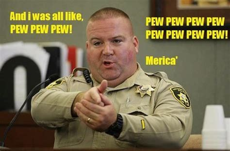 Pew Pew Meme - and i was all like pew pew pew merica