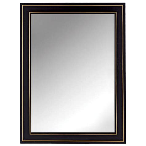 30 x 40 bathroom mirror deco mirror 40 in x 28 in modern wall mirror in brushed