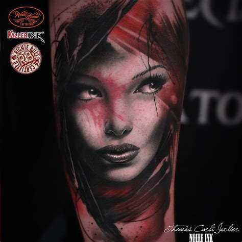 girl face tattoos best ideas gallery