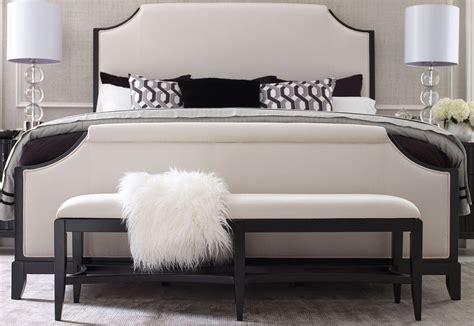 Symphony Bedroom Furniture Symphony Platinum Black Tie Upholstered Panel Bedroom Set From Legacy Classic 5640 4205k