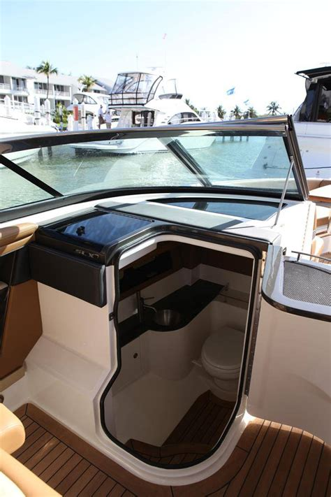 bed boat mag sea ray 350 slx an elegant and smart bowrider boat magazine