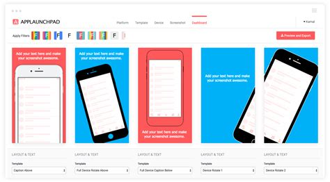 app store screenshot template applaunchpad create beautiful app store play