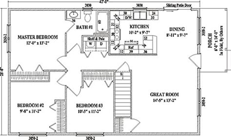 Wardcraft Homes Floor Plans Cambridge By Wardcraft Homes Ranch Floorplan