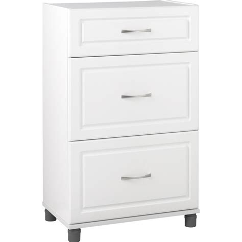 white storage cabinet with drawers 3 drawer storage cabinet in white aquaseal 7368401pcom