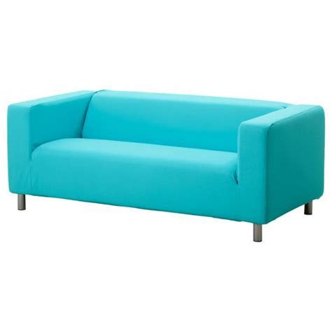 blue ikea couch ikea klippan cover granan turquoise 2 seat sofa loveseat