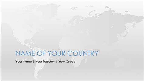 Social Studies Powerpoint Templates Free Worldmap Powerpoint Template