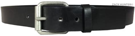 mens real leather belts 1 5 quot belt in black brown quality