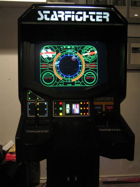 Fighter Arcade Cabinet by You Could Be The Last Starfighter As As Your Pc
