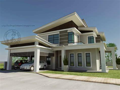 interior design rumah banglo pelan rumah banglo setingkat moden joy studio design