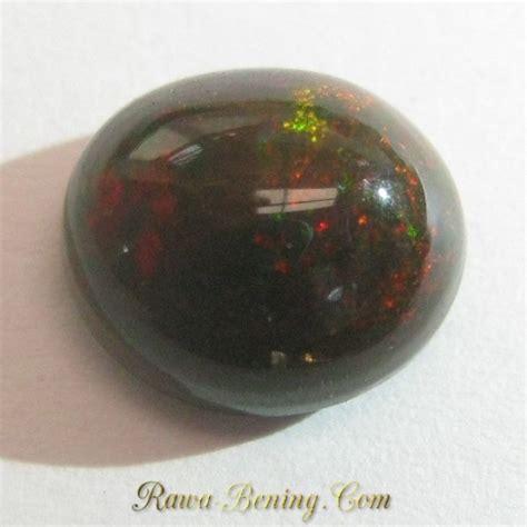 Batu Kalimaya Black Opal 10 batu mulia opal warna hitam coklat 2 10 carat oval