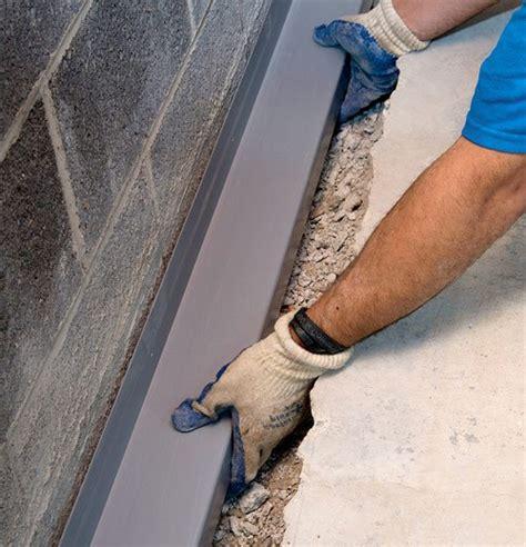 basement drainage channel waterguard 174 interior basement drainage system