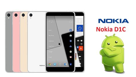 nokia mobile 4g 2016 nokia d1c android smartphone release date specs price