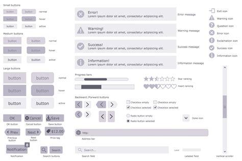 Website Wireframe Solution Conceptdraw Com Wireframe Stencils