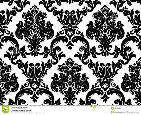 damask seamless pattern vector vector seamless damask pattern stock photos image 29463933