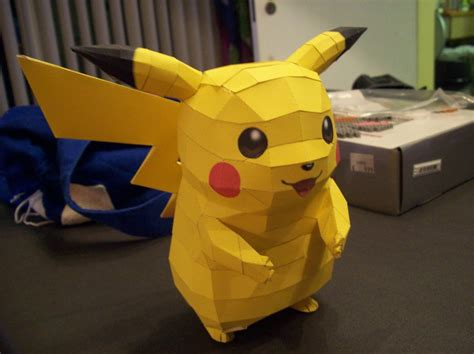 Pikachu Papercraft - pikachu papercraft by dreamer1005 on deviantart