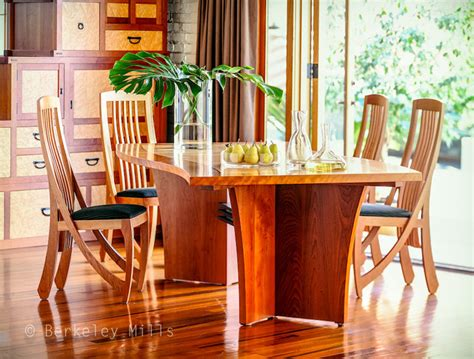 wave table with harp chairs tropical dining tables