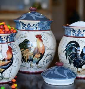 lille rooster canister set kitchen inspirations pinterest