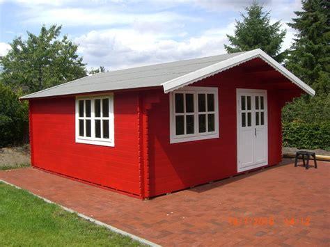 gartenhaus holz rot gartenhaus schwedenrot emphit