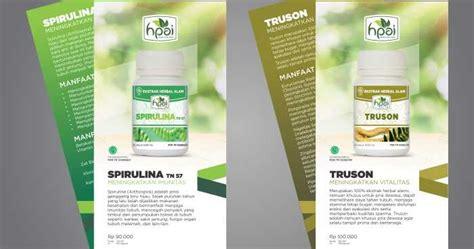 Spirulina Hni Hpai Kapsul Spirulina Hni Hpai Masker Kecantikn Herbal brosur produk 2016 15 hpai support system