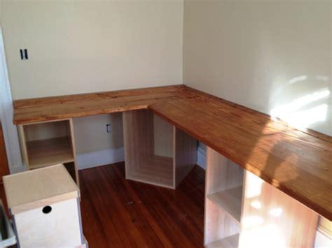 Schreibtisch Aus Arbeitsplatte Selber Bauen by Eckschreibtisch Selber Bauen Kreative Vorschl 228 Ge