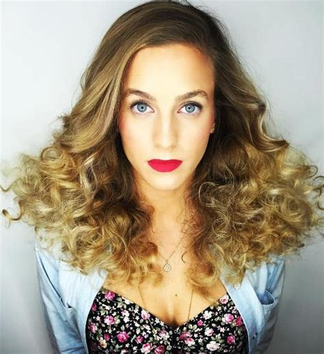 half curly half straight hair 20 hairstyles and haircuts for curly hair curliness is