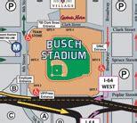 Parking Garage Near Busch Stadium by Busch Stadium Parking Guide Tips Maps Deals Spg