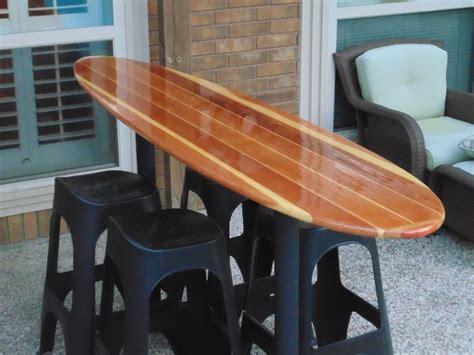 landshark surfboard bench 8 redwood surfboard bar our customer wet sanded