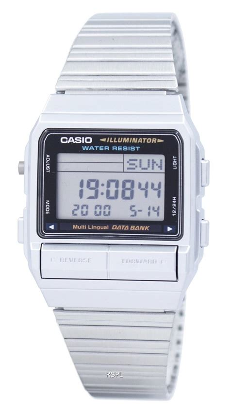 Casio Databank Db 380 1 casio digital 5 alarm multi lingual data bank db 380 1df