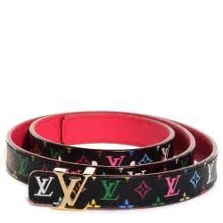 Initials Jewelry Louis Vuitton Multicolor Lv Initials Belt 80 32 Noir Grenade 98971
